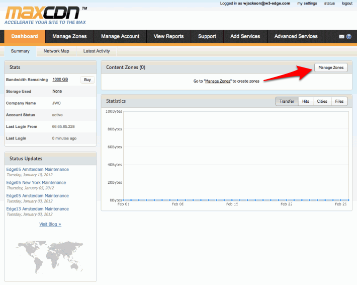 How to integrate a CDN with W3 Total Cache « W3 EDGE